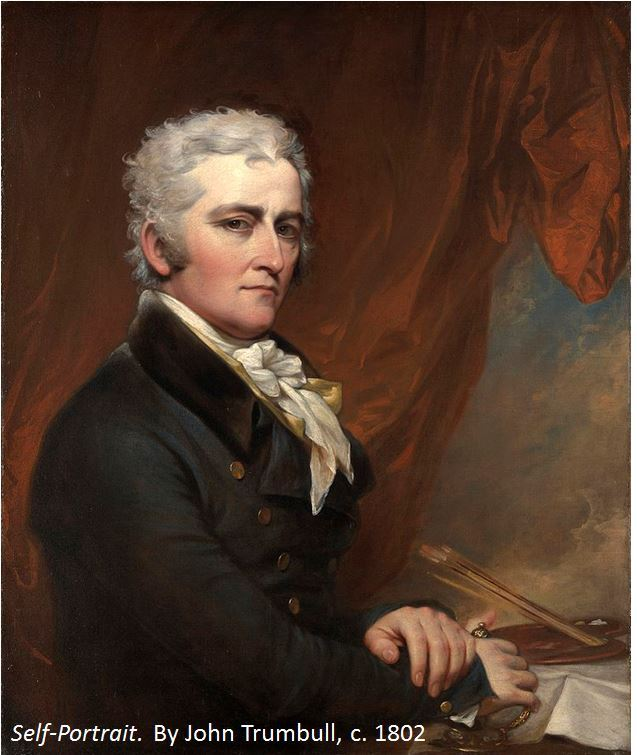 John Trumbull self portrait, 1802
