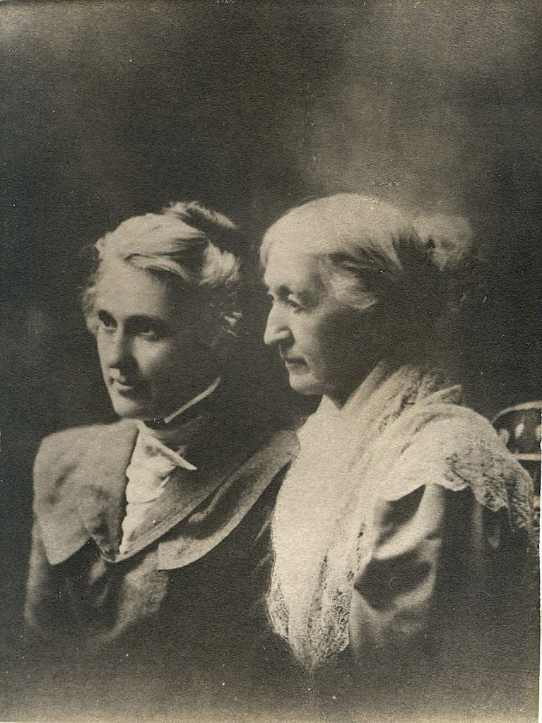 Elizabeth Smith Miller and her Daughter