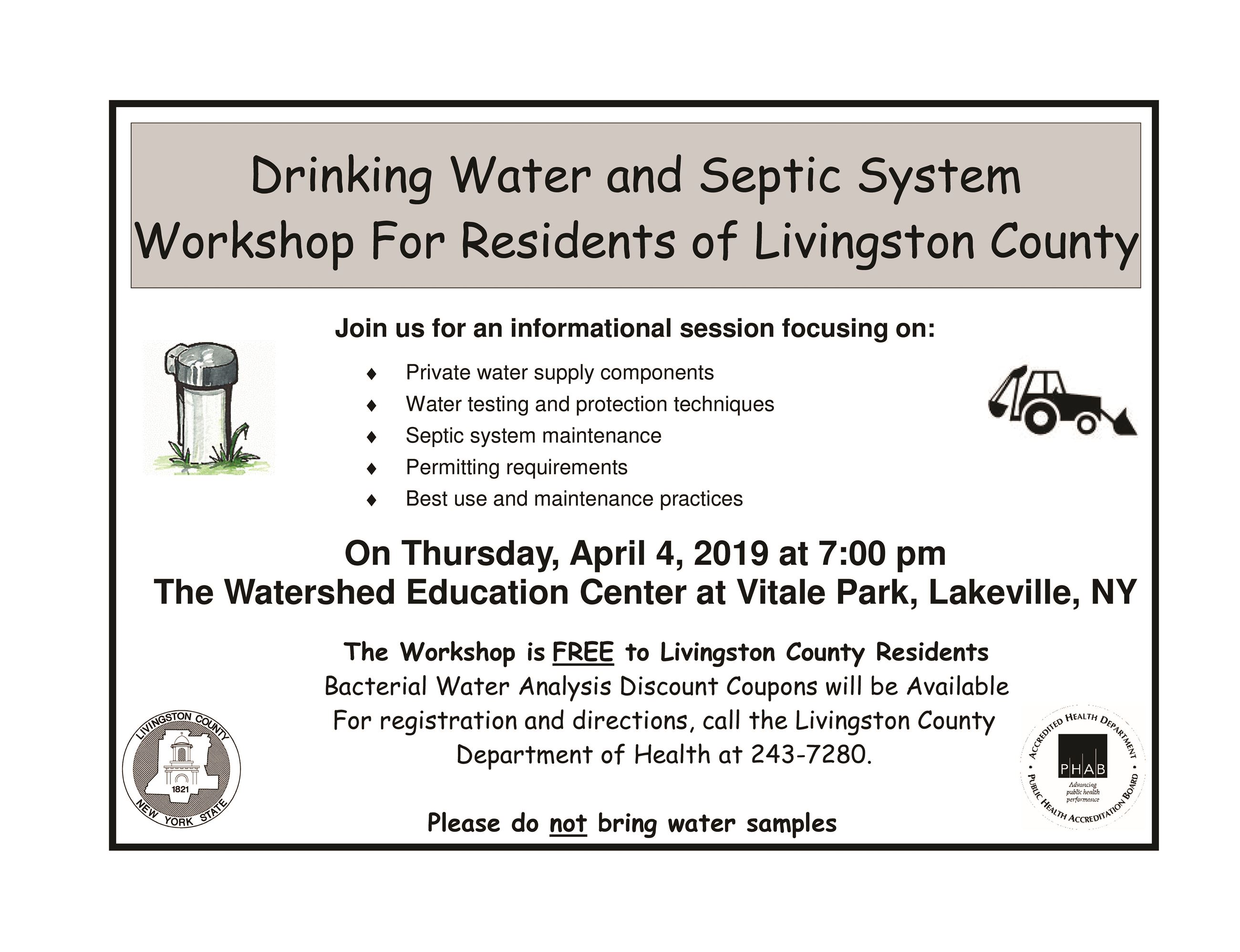 2019 WaterSeptic Workshop