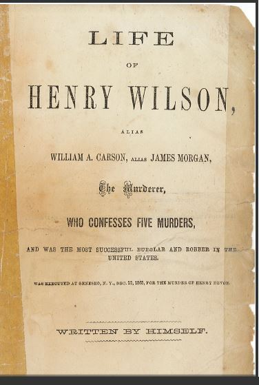 Clip of Henry Wilson book cover