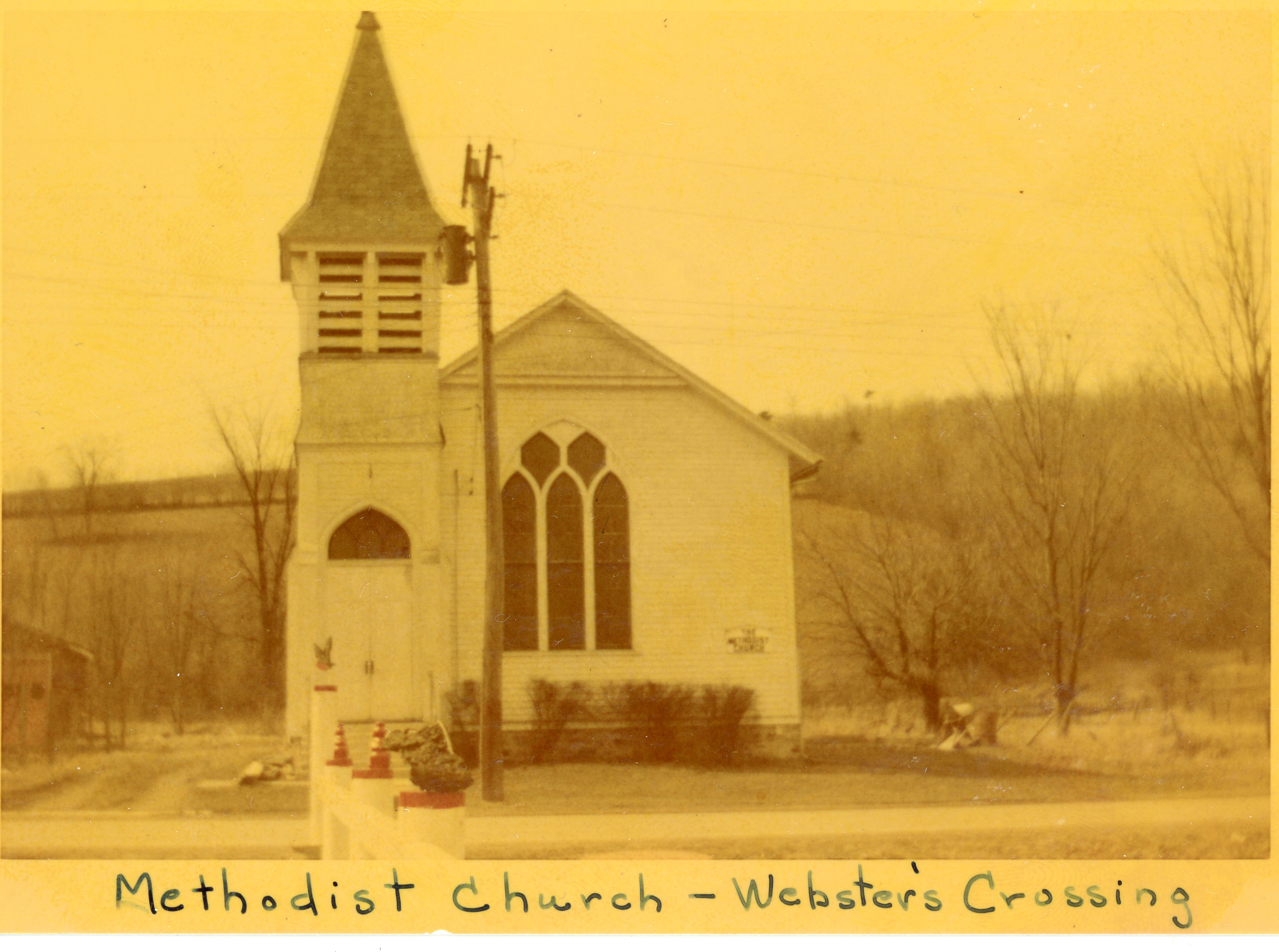 Image of Methodist Church in Webster's Crossing