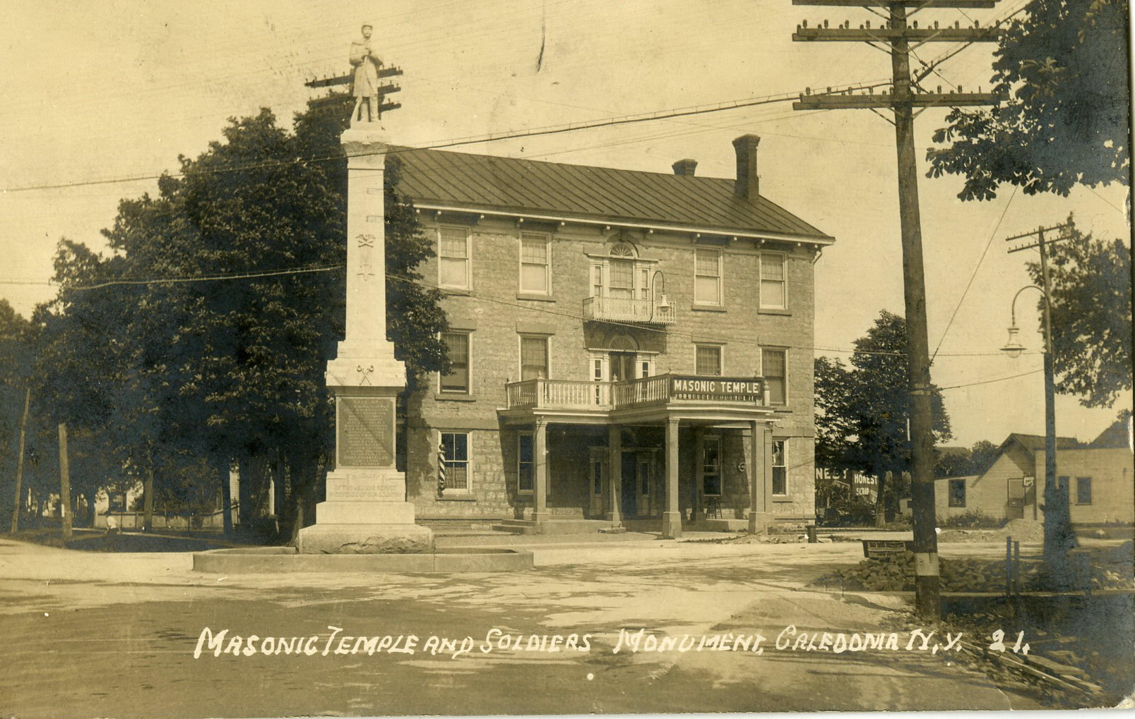 1920 Caledonia Masonic Temple