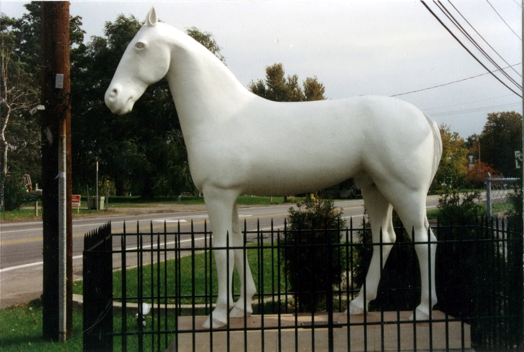 1990 East Avon White Horse